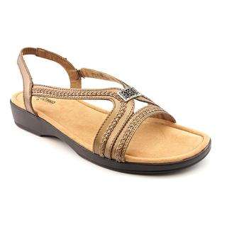Minnetonka Women's 'Galina' Gold Leather Sandals