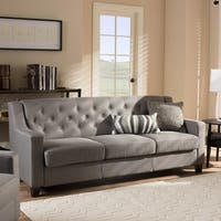 Copper Grove Muir Modern and Contemporary Tufted Sofa