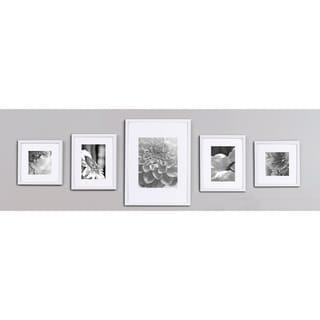White 5-piece Wall Frame Kit
