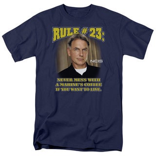 Ncis/Rule 23 Short Sleeve Adult T-Shirt 18/1 in Navy