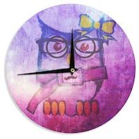 KESS InHouseiRuz33 'Showly' Wall Clock