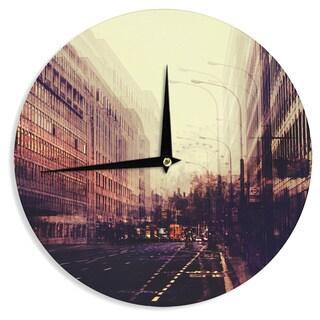 KESS InHouseIngrid Beddoes 'London' Wall Clock
