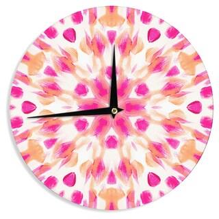 KESS InHouseIris Lehnhardt 'Batik Mandala' Wall Clock