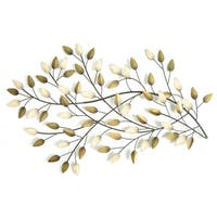 The Gray Barn Jartop West Blowing Leaves Wall Decor