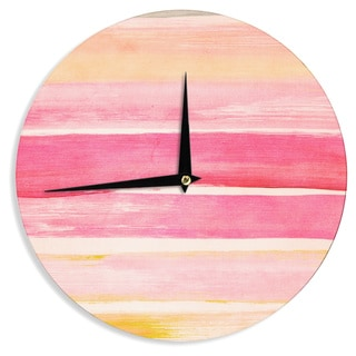 KESS InHouseIris Lehnhardt 'Colour Play' Wall Clock