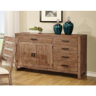 Coaster Company Distressed Brown Dining Room Server