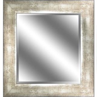 Mirror Dark Espresso Woodgrain 31 x 37-inch Mirror
