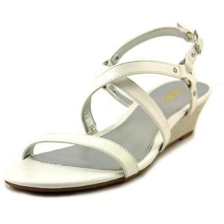 Chaps Women's 'Mackenzee' White Synthetic Sandals