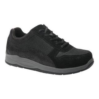 Women's Drew Tuscany Sneaker Black Leather/Nylon
