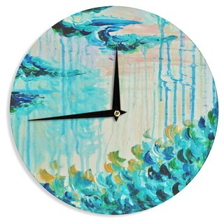 KESS InHouseEbi Emporium 'Poseidons Wrath' Wall Clock