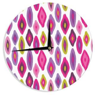 KESS InHouse Nicole Ketchum 'Moroccan Dreams' Wall Clock