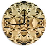 KESS InHouse Nika Martinez 'Abstraction' Wall Clock