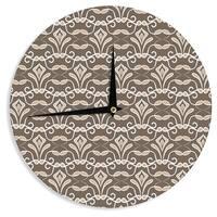 KESS InHouse Julia Grifol 'Deco' Wall Clock