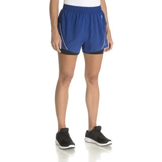 Lotto Women's Rival Polyester Layered Shorts