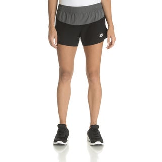 Lotto Women's Colorblock Polyester Pull-on Running Shorts