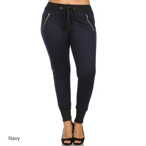 Plus Size Women's Sweat Pants