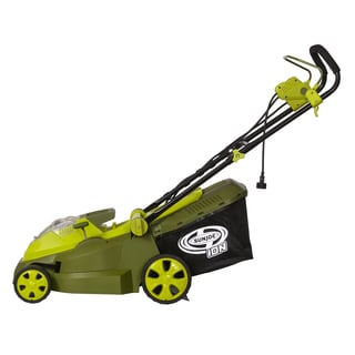 Sun Joe 40V 4.0 Ah Hybrid Cordless or Electric 16-Inch Lawn Mower