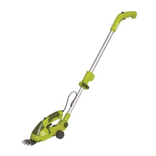 Sun Joe 7.2-Volt Lithium-Ion Cordless Grass Shear/Hedge Trimmer w/Telescoping Extension Pole