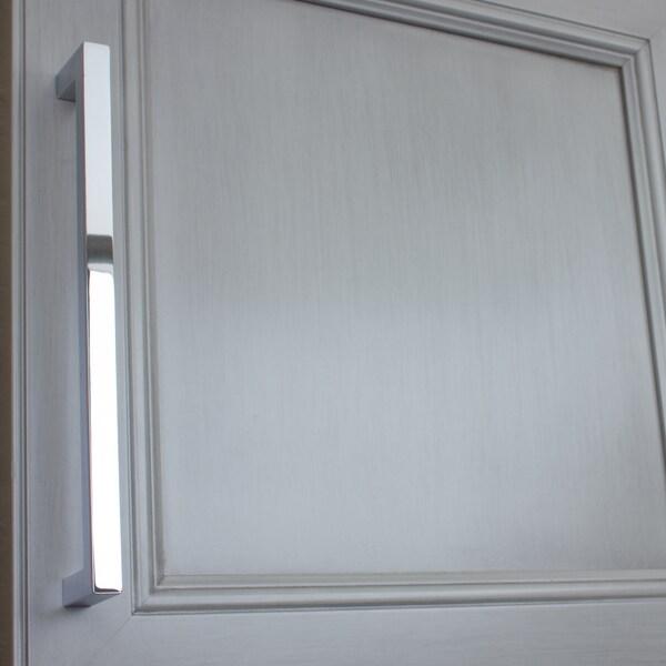 Gliderite 7.56-inch CC Solid Square Cabinet Bar Pull Handle ...