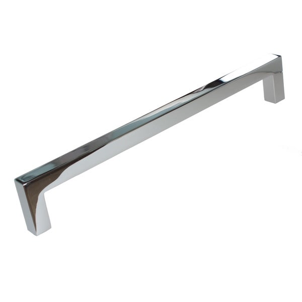 5 10 25 Cabinet Pull Square Drawer Handles Kitchen: Shop Gliderite 7.56-inch CC Solid Square Cabinet Bar Pull