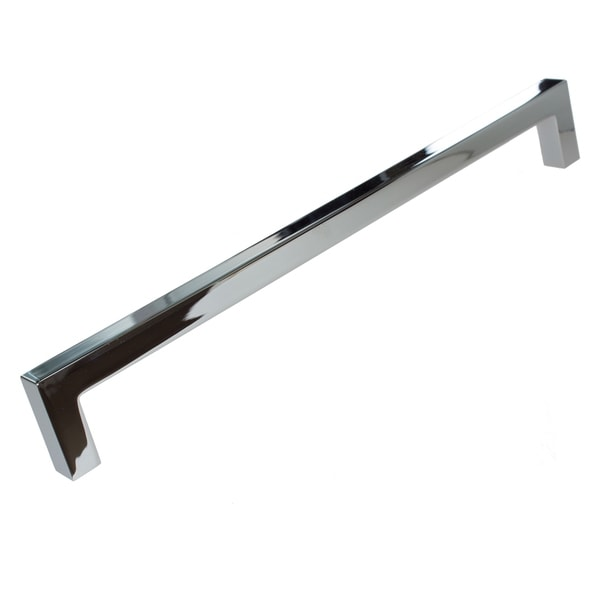 5 10 25 Cabinet Pull Square Drawer Handles Kitchen: Gliderite 8.75-inch CC Solid Square Cabinet Bar Pull