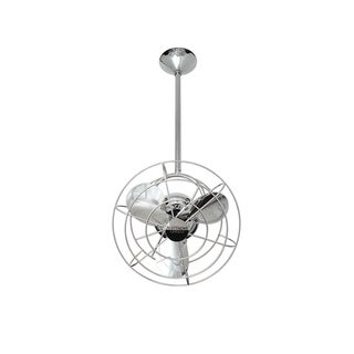 Mathews Fan Company Bianca Direcional Polished Chrome Ceiling Fan