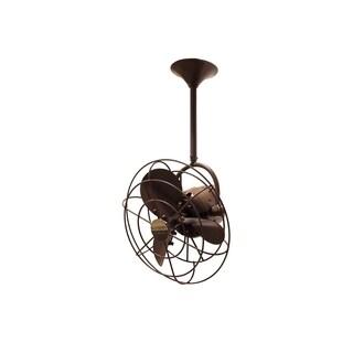 Mathews Fan Company Bianca Direcional Bronze Metal Ceiling Fan
