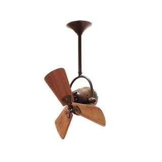 Mathews Fan Company Bianca Bronze Aluminum/Steel/Wood Ceiling Fan