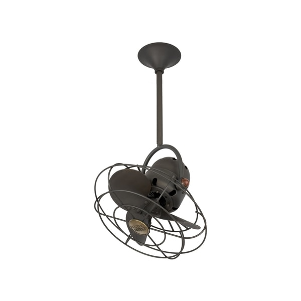 Mathews Fan Company Bianca Direcional Bronze Steel Ceiling Fan