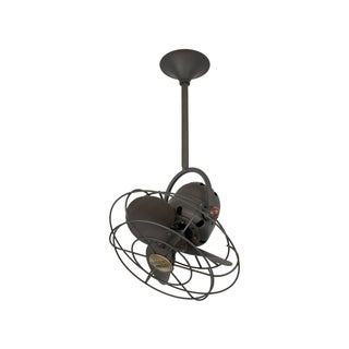 Mathews Fan Company Bianca Direcional Bronze Steel Ceiling Fan