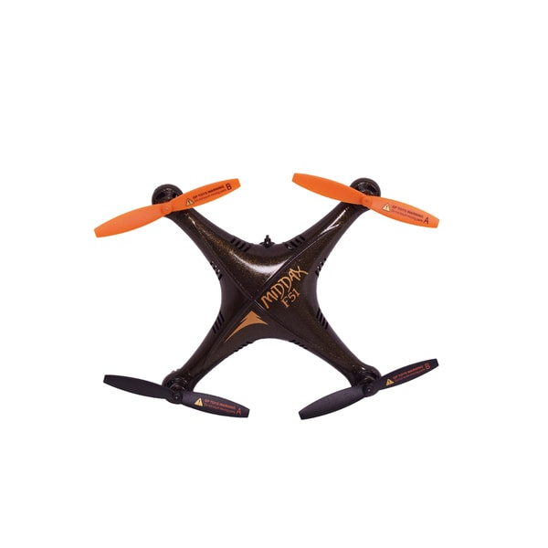 Black/ Orange Waterproof Aqua drone with Camera