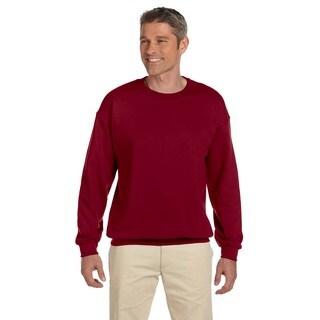 Gildan Men's Garnet 50/50 Fleece Big and Tall Crewneck Sweater