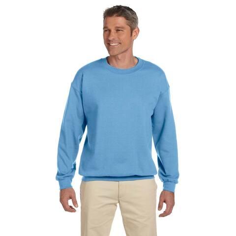 Gildan Men's Carolina Blue 50/50 Fleece Big and Tall Crewneck Sweater