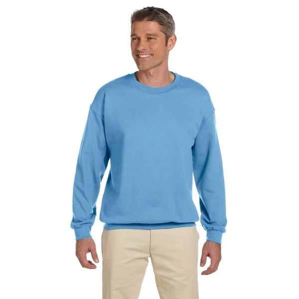Gildan Mens Carolina Blue 50/50 Fleece Big and Tall Crewneck Sweater