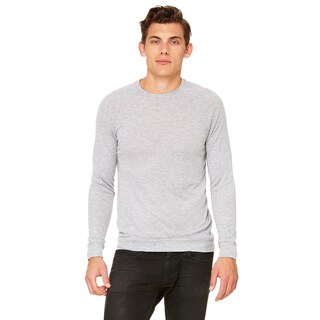 Unisex Athletic Heather Lightweight Big and Tall Sweater