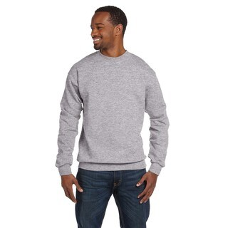 Gildan Men's Sport Grey Ring-spun Cotton Big and Tall Crew-neck Sweater
