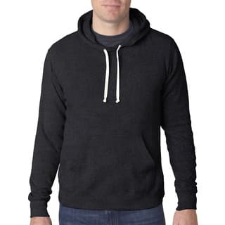 Men's Black Triblend Fleece Big and Tall Pullover Hooded Sweater|https://ak1.ostkcdn.com/images/products/12448957/P19263103.jpg?impolicy=medium