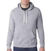 Triblend Men's Big and Tall Grey Fleece Pullover Sweatshirt