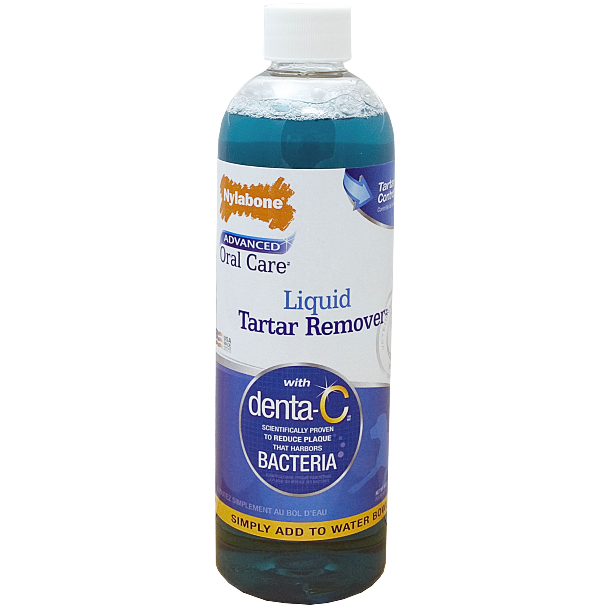 Nylabone Advanced Oral Care Liquid Tartar Remover (16oz),...