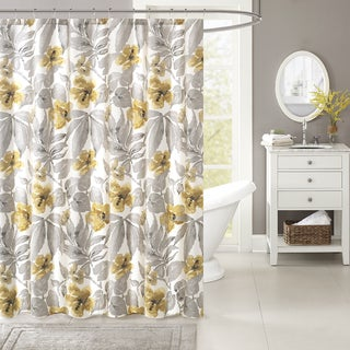 Harbor House Gabrielle Cotton Printed Shower Curtain