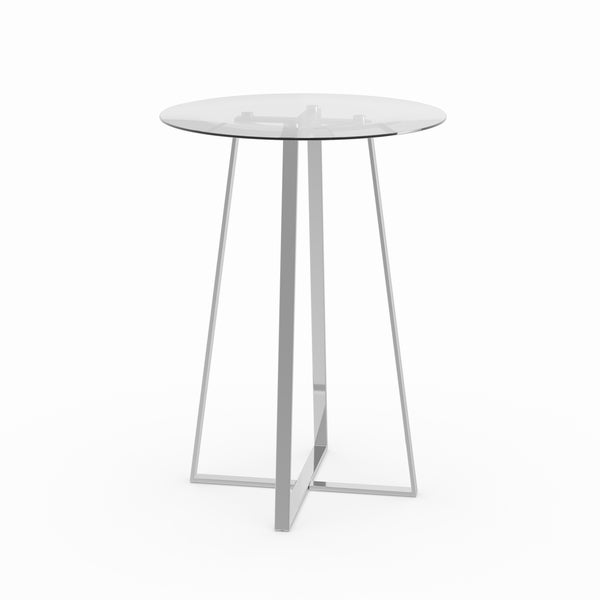 Merveilleux Coaster Company Silver Bar Table