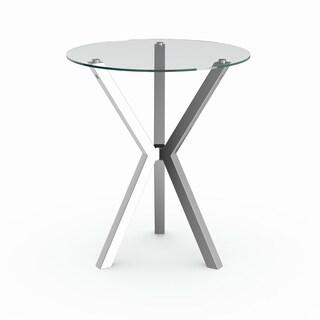 Coaster Company Silver Metal Bar Table