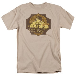 Cheers/The Norm Short Sleeve Adult T-Shirt 18/1 in Sand