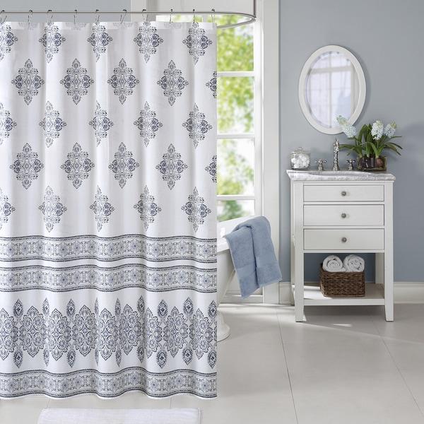 Harbor House Sanibel Cotton Printed Shower Curtain