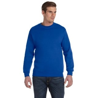 Men's Royal 50/50 Fleece Big and Tall Crew-neck Sweater