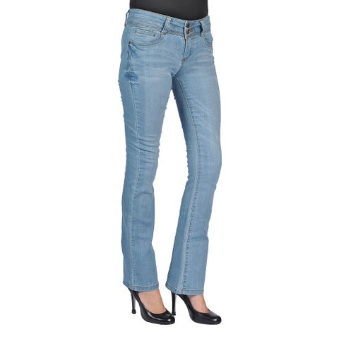 C'est Toi Bootcut Denim Light Wash Jeans