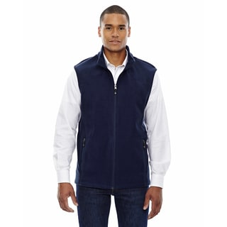 Voyage Men's 849 Classic Navy Fleece Big and Tall Vest