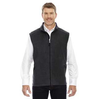 Journey Men's Heather Charcoal Fleece Big and Tall Vest