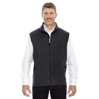 Journey Men's Heather Charcoal Fleece Big and Tall Vest