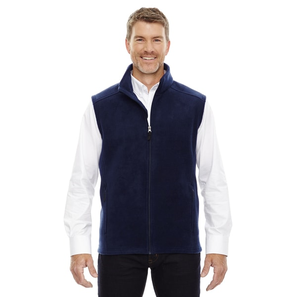 Mans Classic Navy 849 Fleece Tall Journey Big And Tall Vest by  Top Reviews